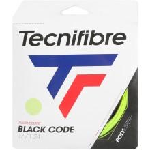 TECNIFIBRE BLACK CODE LIME TENNISSNAAR (12 METER)