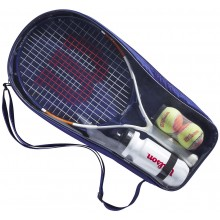 "WILSON JUNIOR ROLAND GARROS ELITE 21"" KIT"