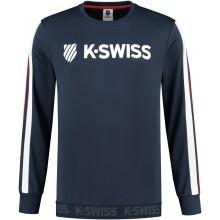 K-SWISS HERITAGE SWEATER MET LANGE MOUWEN