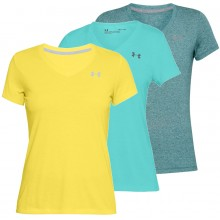 UNDER ARMOUR THREADBORNE TWIST T-SHIRT DAMES