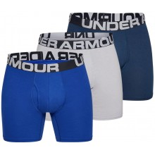 "UNDER ARMOUR CHARGED COTTON 6"" BOXERS (3 STUKS)"
