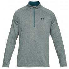 UNDER ARMOUR TECH 1/2 RITS T-SHIRT LANGE MOUWEN