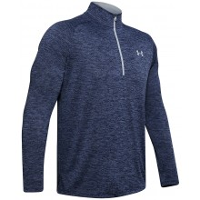 UNDER ARMOUR TECH 2.0 1/2 ZIP T-SHIRT MET LANGE MOUWEN