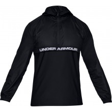 UNDER ARMOUR SWEATER MET KAP WOVEN LAYER