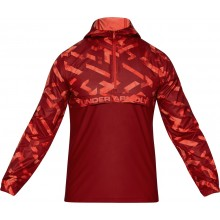 UNDER ARMOUR WOVEN LAYER WINDBREKER MET KAP