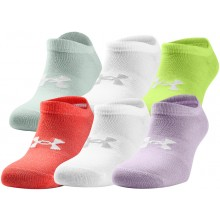 UNDER ARMOUR ESSENTIAL NO SHOW DAMESSOKKEN (6 PAAR)