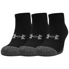 UNDER ARMOUR HEATGEAR LO CUT SOKKEN (3 PAAR)