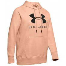 UNDER ARMOUR RIVAL FLEECE SPORTSTYLE GRAPHIC SWEATER