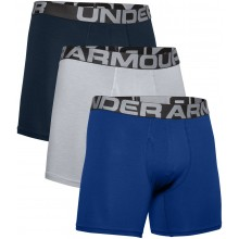 PACK DE 3 BOXERS UNDER ARMOUR CHARGED COTTON 6IN