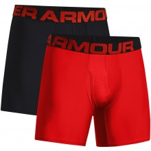 UNDER ARMOUR TECH 6IN BOXERSHORTS (2 PAAR)