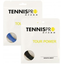 TENNISPRO DW TOUR POWER TENNISSNAAR (SET 12 M)