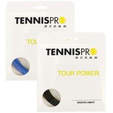 TENNISPRO DW TOUR POWER TENNISSNAAR (SET 12 M)