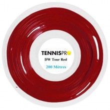 TENNISPRO DW TOUR RED TENNISSNAAR (ROL 200 M)