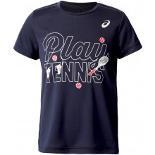 ASICS JUNIOR FILLE TENNIS GPX T-SHIRT