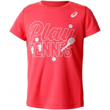 ASICS JUNIOR TENNIS GPX MEISJES T-SHIRT