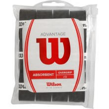 WILSON ADVANTAGE 12 OVERGRIPS (ABSORBEREND)
