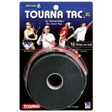 TOURNA TAC XL OVERGRIP ZWART (10 ST)