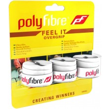 POLYFIBRE FEEL IT OVERGRIPS (3 OVERGRIPS PER SET)
