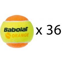 BABOLAT ORANGE TENNISBAL (NAVULLING 36 STUKS)