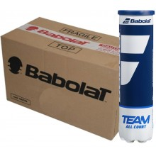 BABOLAT TEAM ALL COURT (KARTON 18 X 4 BALLEN)