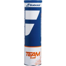 BABOLAT TEAM GRAVEL TENNISBALLEN (TUBE VAN 4 BALLEN)