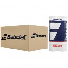 BABOLAT TEAM TENNISBALLEN (KARTON VAN 9 BIPACKS MET 4 TENNISBALLEN)