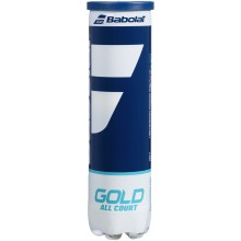 BABOLAT GOLD ALL COURT TENNISBALLEN (TUBE VAN 4 BALLEN)