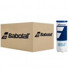 BABOLAT GOLD HIGH ALTITUDE TENNISBALLEN (KARTON MET 24 TUBES VAN 3 BALLEN)