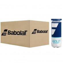 BABOLAT GOLD ALL COURT TENNISBALLEN (KARTON MET 24 TUBES VAN 3 BALLEN)