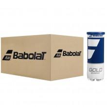 BABOLAT GOLD ACADEMY TENNISBALLEN (KARTON MET 24 TUBES VAN 3 BALLEN)