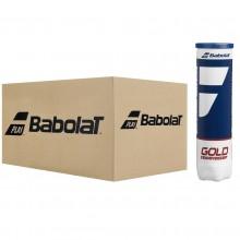 BABOLAT GOLD CHAMPIONSHIP TENNISBALLEN (KARTON MET 18 BALLEN VAN 4 BALLEN)