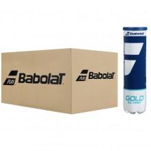 BABOLAT GOLD ALL COURT TENNISBALLEN (KARTON MET 18 TUBES VAN 4 BALLEN)
