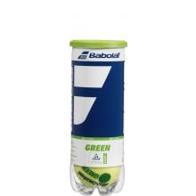 BABOLAT GREEN TENNISBALLEN (TUBE VAN 3 BALLEN)
