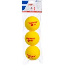 BABOLAT RED FOAM TENNISBALLEN (ZAK MET 3 BALLEN)