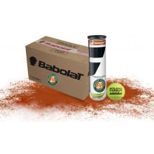 BABOLAT FRENCH OPEN / ROLAND GARROS ALL COURT (KARTON 18 X 4 BALLEN)