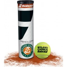 BABOLAT FRENCH OPEN CLAY COURT TENNISBAL (1X 4 BALLEN)
