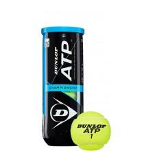 DUNLOP ATP CHAMPIONSHIP BUIS MET 3 BALLEN