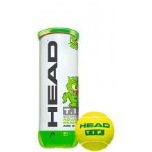 HEAD TIP GROEN (1X TUBE 3 BALLEN)