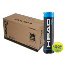 HEAD PRO BLUE TENNISBAL (KARTON 18x TUBE 4 BALLEN)