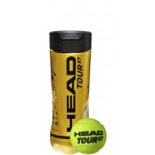 HEAD TOUR XT TENNISBALLEN (TUBE VAN 3 BALLEN)