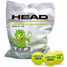 HEAD TIP GROEN (1X ZAK MET 72 BALLEN)