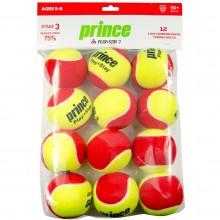 PRINCE STAGE 3 RODE VILT TENNISBALLEN (ZAKJE MET 12 TENNISBALLEN)