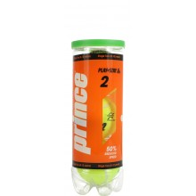 TUBE DE 3 BALLES PRINCE MINI TENNIS PLAY+STAY STAGE 2 ORANGE