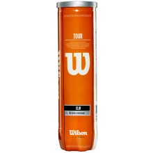 WILSON TOUR CLAY (TUBE VAN 4 BALLEN)