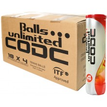 UNLIMITED CODE RED (KARTON 18 X 4 BALLEN)