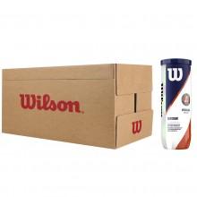 WILSON ROLAND GARROS OFFICIAL CLAY TENNISBALLEN (24x 3st)