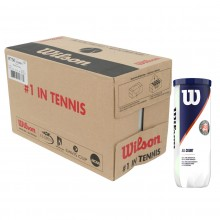 WILSON ROLAND GARROS ALL COURT TENNISBALLEN (24x 3st)