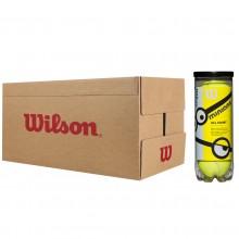 WILSON MINIONS STAGE 1 TENNISBALLEN (DOOS VAN 24 TUBES MET 3 BALLEN)
