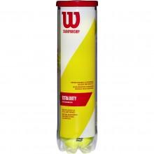 WILSON TENNISBAL  CHAMPIONSHIP ( KOKER VAN 4  )