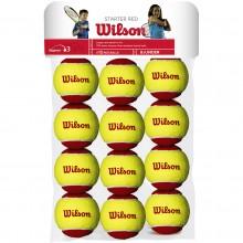 WILSON STARTER RED (ZAK MET 12 BALLEN)